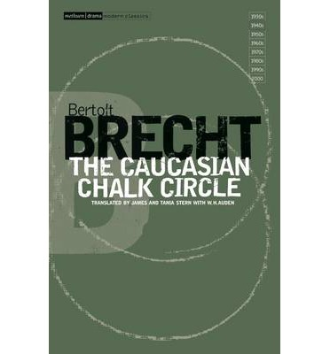a literary analysis of the caucasian chalk circle by brecht There are those who believe that the caucasian chalk circle has no place in  modern  brecht had a distinct concept of how an audience should react to his  play  overall this interpretation benefited by playing up the absurd tragic-comic .