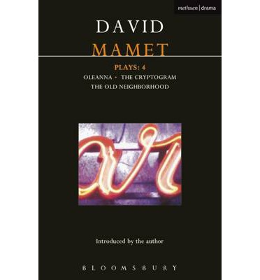 an analysis of uncontrollable everyday events in oleanna by david mamet Oleanna by david mamet he says that even now he struggles to write every day: that a proposed step will set off an undesirable and uncontrollable chain of events.