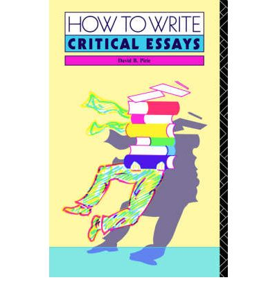 a guide to writing the critical A guide to critical writing, grammar, and style / writing-3 2401 as you have already learned during your young life, people disagree on a host of ideas.