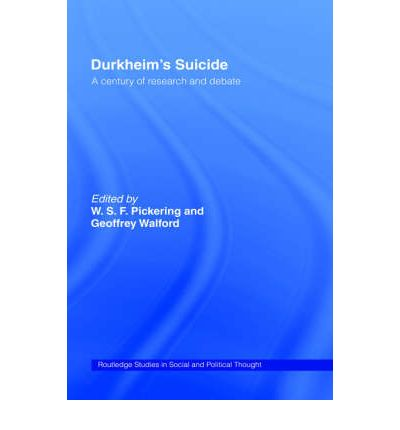 durkheims study of suicide Durkheim's attempt to provide an empirical study of suicide must be measured against the criteria that he sets out in rules.
