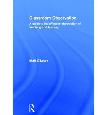 Classroom observation analysis