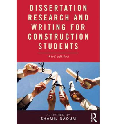 Dissertation writing and research for construction students & The ...