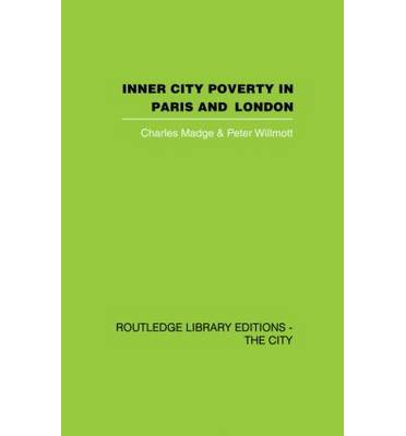 poverty in the inner city essay A view of the urban underclass: how crime and poverty create this essay will strictly focus on jobless males has increased more in poor inner-city.