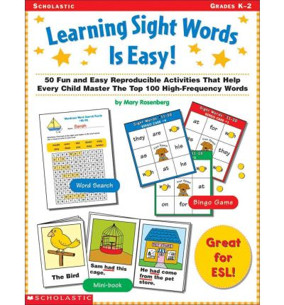 Learning Sight Words is Easy