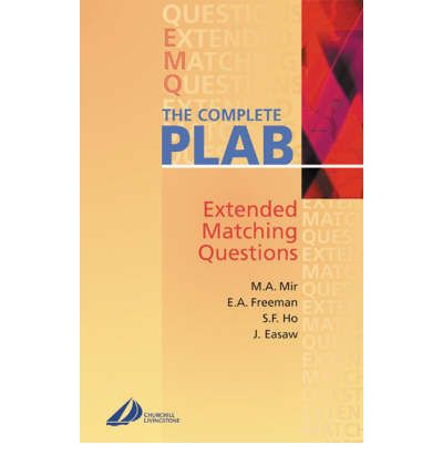 The Complete PLAB : Extended-Matching Questions