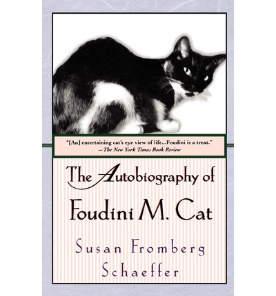 autobiography of a cat By susan fromberg schaeffer novel of an orphaned cat's life, reviewed & recommended.