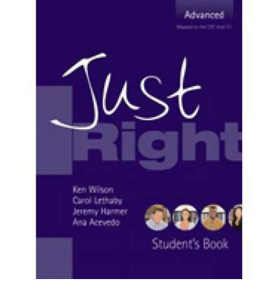 Just Right - Advanced