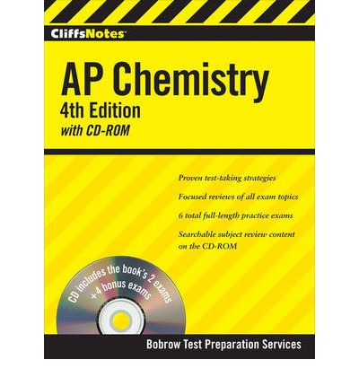 cliffsnotes ap chemistry mixed media product cliffs ap english by