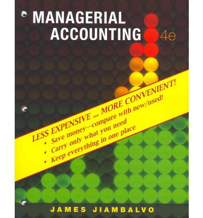 managerial accounting 4th edition kimmel chapter 6-1 chapter 6 cost volume profit analysis: additional issues managerial accounting, fourth edition describe the essential features of a cost-volumeprofit income statement.