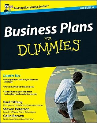 business plans for dummies book