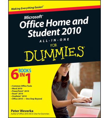 Office Home & Student 2010 All-in-One For Dummies