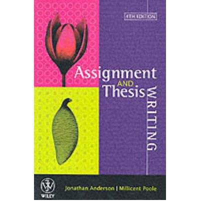 Thesis and Assignment Writing