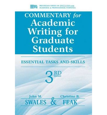 Academic writing for graduate students 3rd edition pdf - Stonewall ...