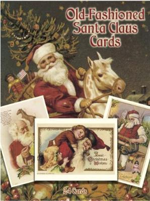 Old-Fashioned Santa Claus Postcards in Full Colour