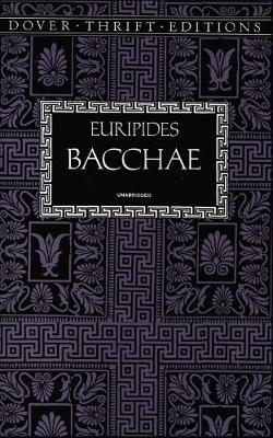 essays on euripides bacchae View notes - essay- the bacchae from sem 020 at saint marys college of california word count: 1010 manuel macias seminar: in euripides' the bacchae, pentheus.