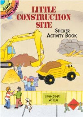 Little Construction Site Sticker Activity Book