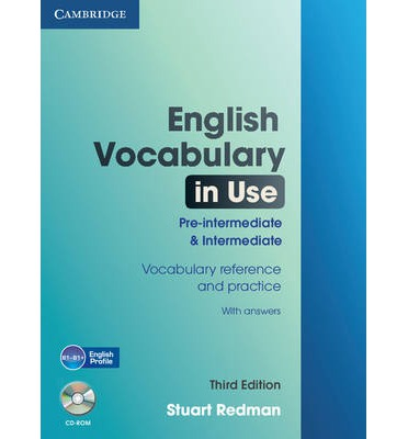English Vocabulary in Use Pre-intermediate and Intermediate with Answers and CD-ROM