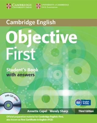 Objective First Student's Book with Answers with CD-ROM