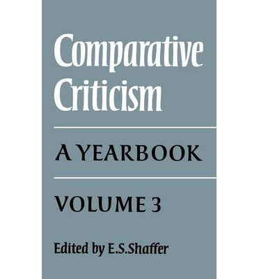 browse comparative literature essays criticism Ml1203 reading texts: criticism for comparative literature we use cookies on this site by browsing our site you agree to essay 2: 25%, 1500-2000 words overview in this course, students will be introduced to the theory, history, and practice of comparative literature.
