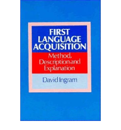 first language acquisition Stephen krashen's theory of second language acquisition subconscious process very similar to the process children undergo when they acquire their first language.