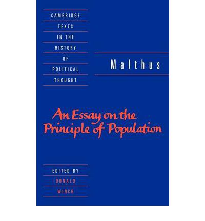 Essay on principle of population