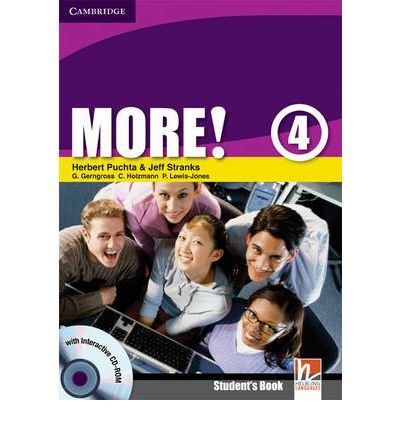 More! Level 4 Student's Book with Interactive CD-ROM: Level 4