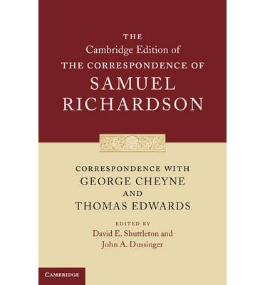 Correspondence with George Cheyne and Thomas Edwards