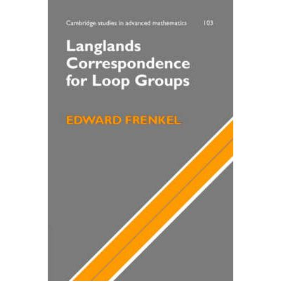 Langlands Correspondence for Loop Groups