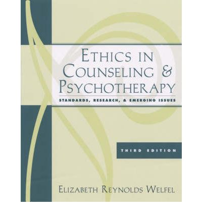 ethical case studies in counseling Case studies on ethical issues of counselling ea l rn e the learning centre r vic diploma in counselling: case study sixth term: case study.