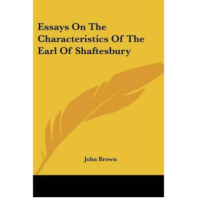 john brown essays on the characteristics Essays on the characteristics by john brown, ma: john brown: 9781235810251: books - amazonca.