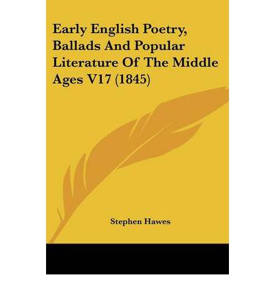 a history of english literature in the middle ages
