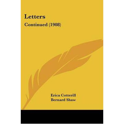 Letters : Continued (1908)