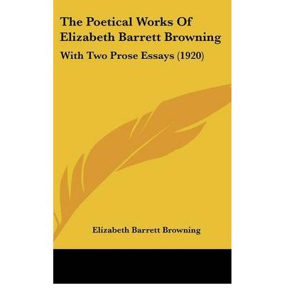 "assignment elizabeth barrett browning essay example Example of book report essay on women in the literary works by elizabeth barrett browning's ""aurora leigh"" and john stuart mill's on the subjection of women."