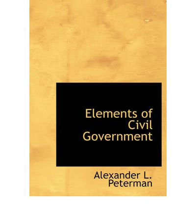 elements of government The increasing  computerization  and the wide spread of icts [25] within our  society highly affect the government's relationship with its various.