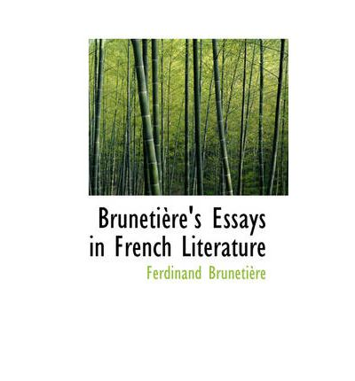 essays french literature culture Nineteenth century french literature abounds in scenes although the french read more non-fiction essays and books on culture, the culture of france is.