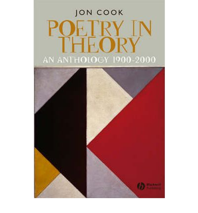 Poetry in Theory : An Anthology 1900-2000