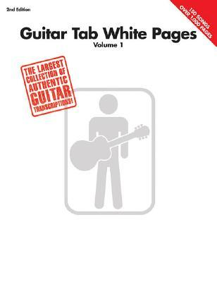 Guitar Tab White Pages: Volume 1