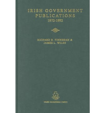Select List of Irish Government Publications, 1972-92