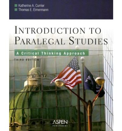 introduction to paralegal studies a critical thinking approach 4e Introduction to paralegal studies : introduction to paralegal studies : a critical thinking approach 5th a critical thinking approach 4e.