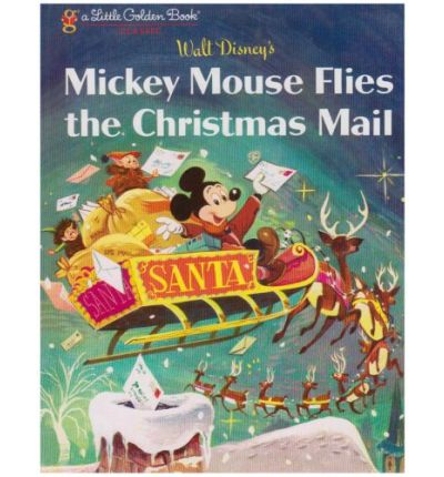Mickey Mouse Flies the Christmas Mail