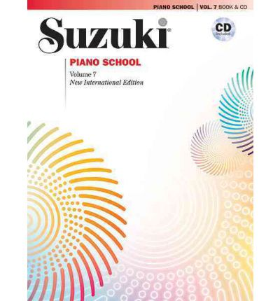 Suzuki Piano School, Vol 7 : Book & CD
