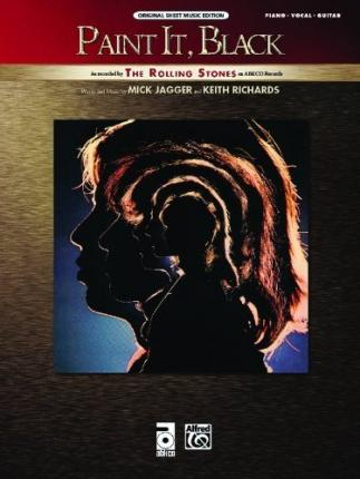 Paint it black rolling stones 9780739069394 for The rolling stones paint it black