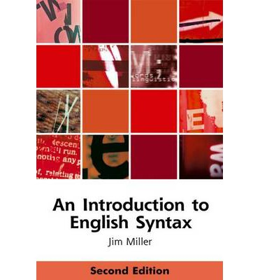 an introduction to english syntax jim miller 9780748633616