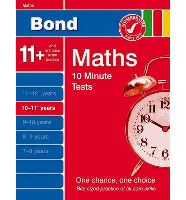 Bond 10 Minute Tests 10-11 Years