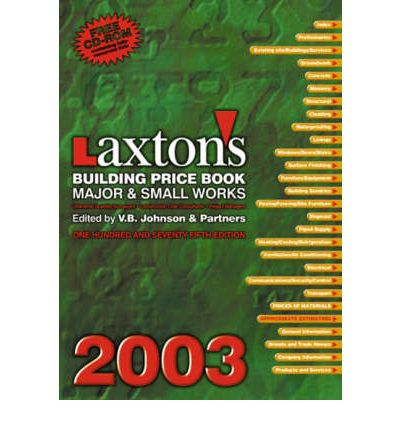 Laxton's Building Price Book 2003