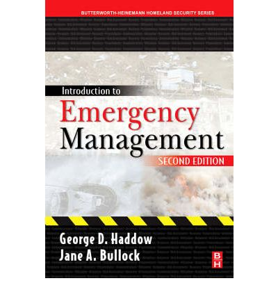 introduction to emergency management All courses in the online ms in emergency management program are offered in  six accelerated eight-week  pmt 711 introduction to emergency management.