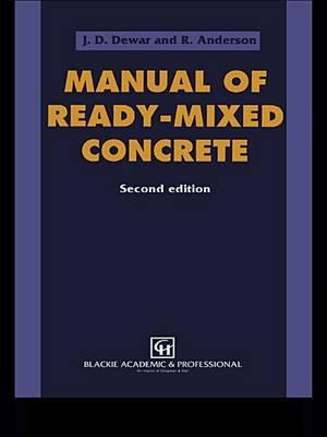 Manual of Ready-Mixed Concrete