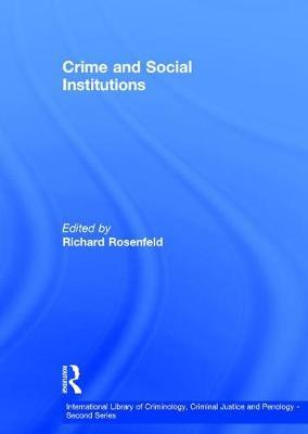 social institutions and organized crime Social institutions and organized crime paul blakey university of phoenix cja 384 30 january 2013 social institutions and organized crime social institutions are groups of people who have come together for a common purpose.