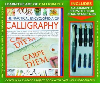 Kit The Practical Encyclopedia Of Calligraphy Janet
