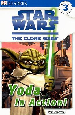Star Wars: The Clone Wars Yoda in Action!